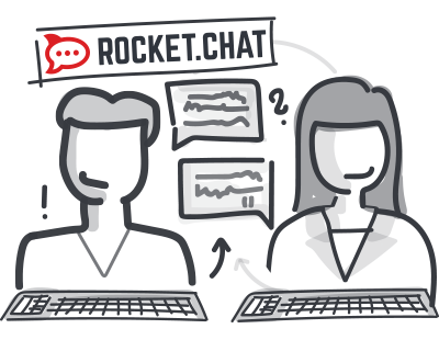 Rocket-Chat Lösung